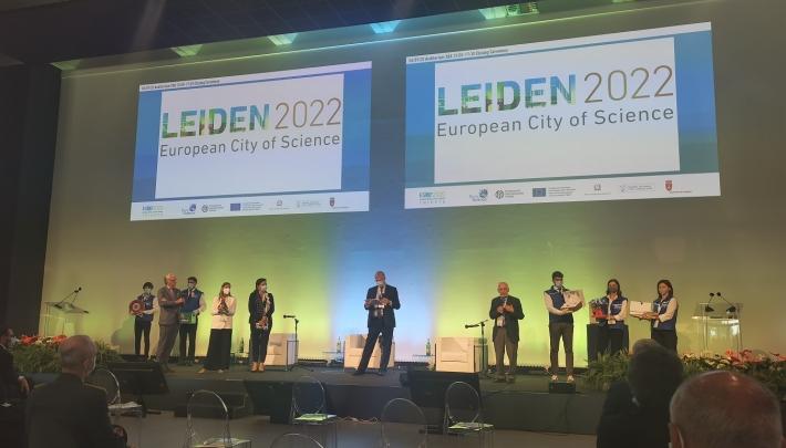 Titel European City of Science overgedragen aan Leiden