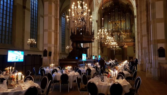 Hanzestad Zwolle decor congres internationale milieutop