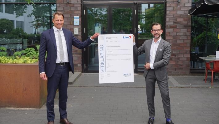 Inntel Hotels ontvangt keurmerk toetsing Covid-19 maatregelen