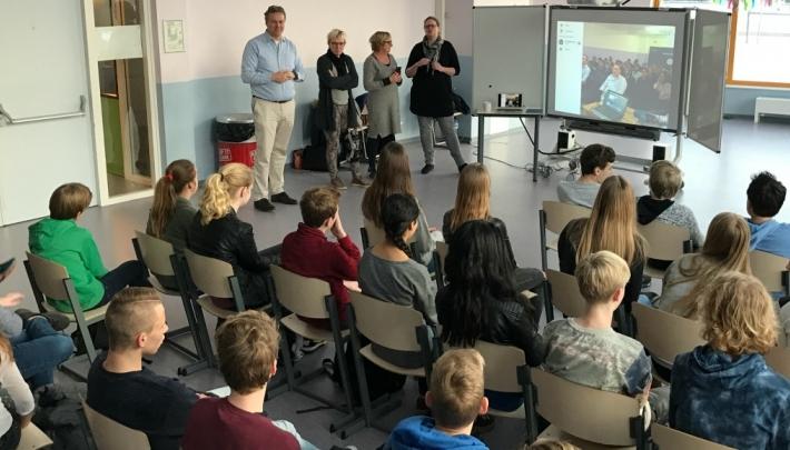 Unieke samenwerking tussen Nederlandse en Indiase scholieren