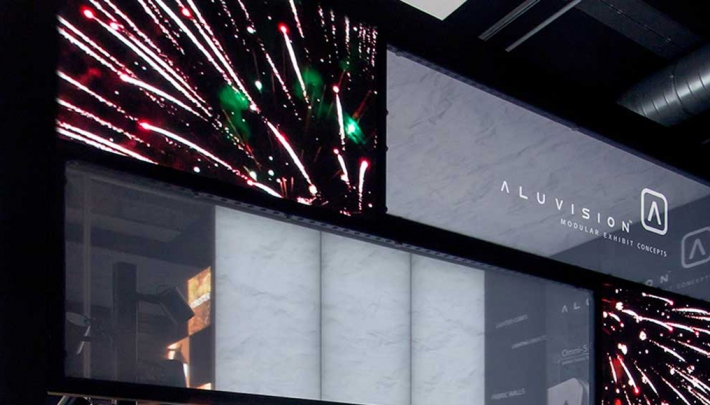 Aluvision introduceert modulair kadersysteem voor LED videowanden
