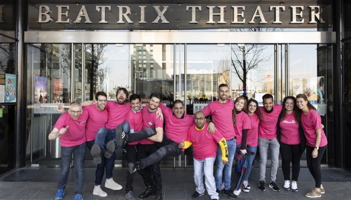 Beeldende kunst krijgt letterlijke betekenis in het Beatrix Theater