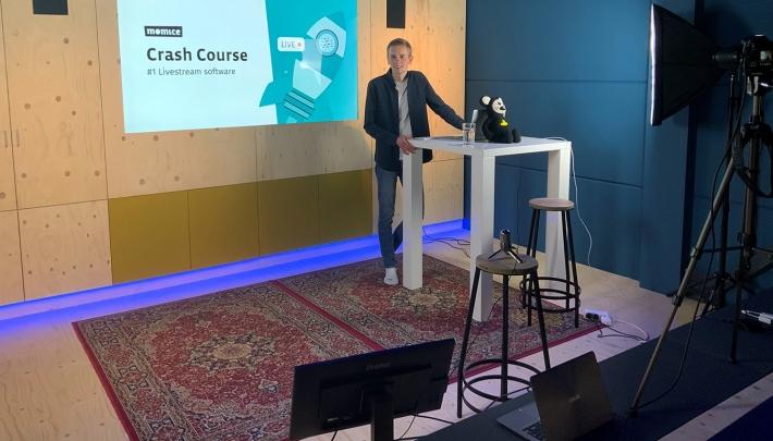 Momice stoomt 600 event professionals klaar voor online events