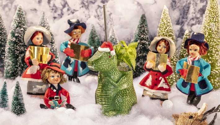 Foute kersthits en lelijke truien bij de Miracle pop-up bar
