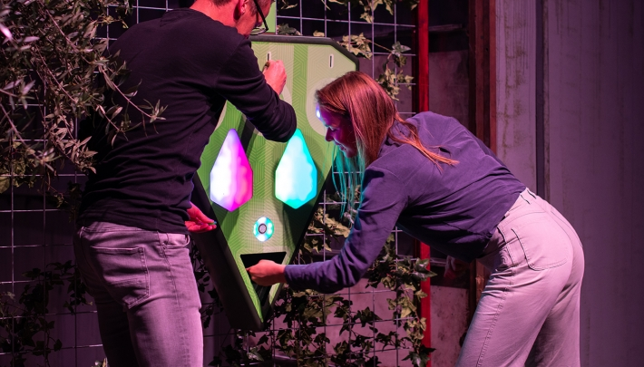 Kartfabrique opent real life teambuildinggame: Moon Trees