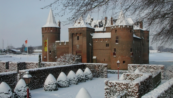 Winter is coming op het Muiderslot