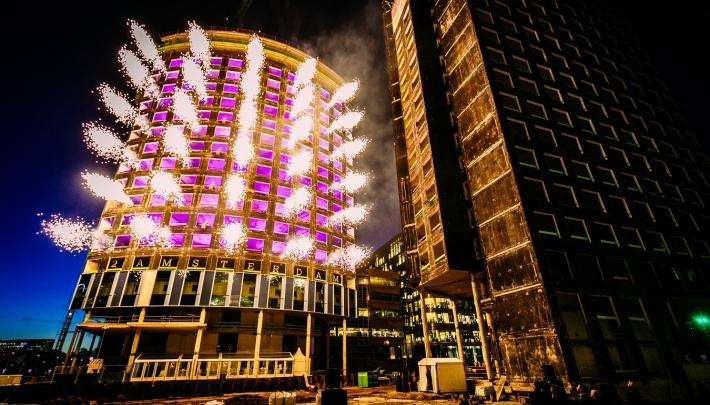 TDG Eventmarketing creëert spectaculaire show op Zuidas