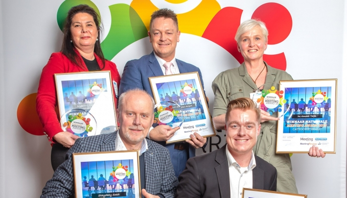 Nationale Meeting Awards uitgereikt
