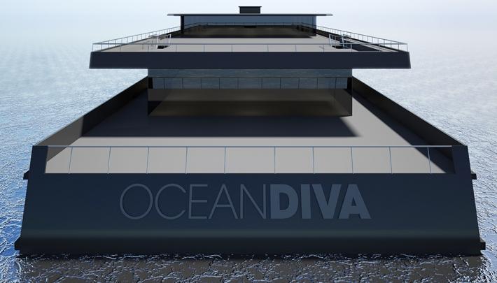 OCEANDIVA bouwt eerste CO2-neutrale eventschip ter wereld