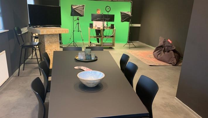 Studio Effectivents biedt studio voor online meetings en events