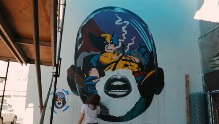 Street art POW! WOW! Festival naar Rotterdam