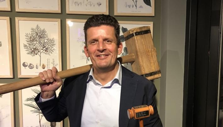 Pieter Bas Boertje nieuwe voorzitter IDEA