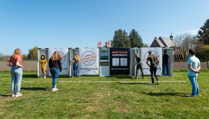 Pop-Up Toilet Events lanceert flexibel plaatsbaar toilet