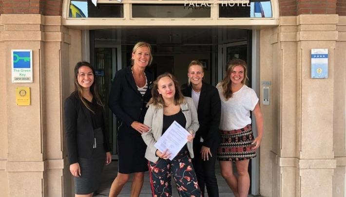 Stichting Emma At Work gesteund door Radisson Blu Palace Hotel