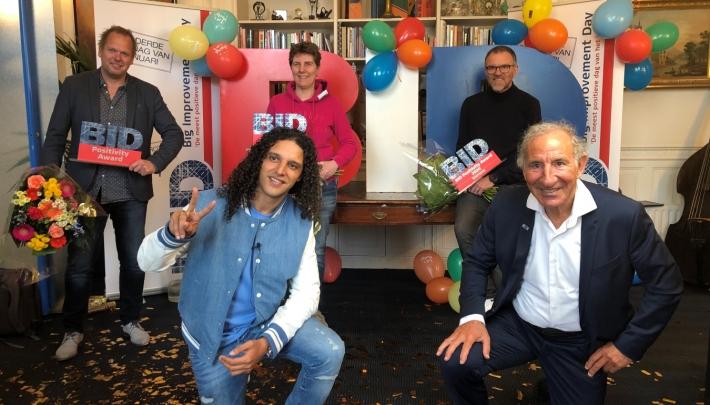 Bibian Mentel en Edwin Spee winnaars BID Positivity Award 2021