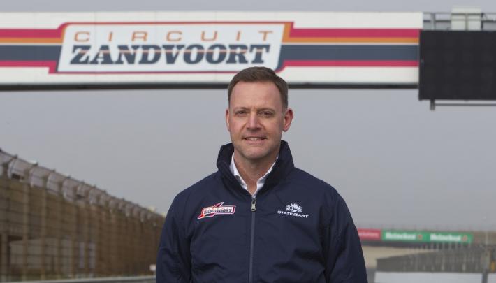 Robert van Overdijk nieuwe directeur Circuit Zandvoort