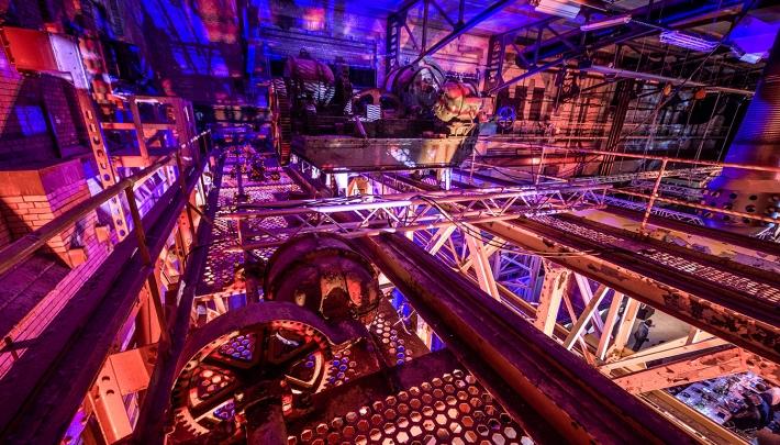 Decor voor sterren in de Schiecentrale Rotterdam
