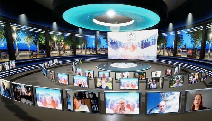 Faber Audiovisuals presenteert overtreffende trap in online eventbeleving
