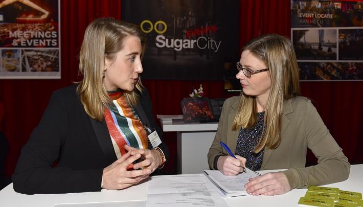 Lisanne de Goeij van @Sugar_City #EventSummit