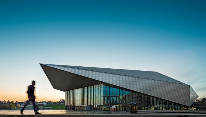 SwissTech Convention Center (EPFL) Lausanne ©EPFL