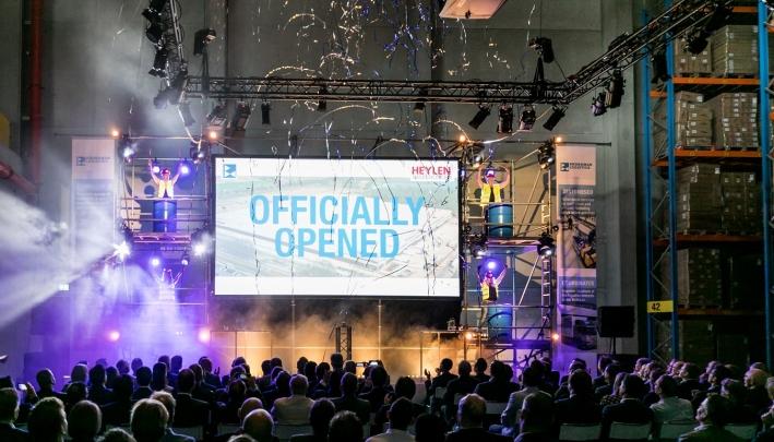 Opening hypermodern magazijn in Venlo in handen van TDG Eventmarketing