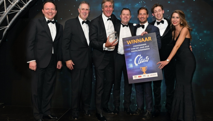 Ondernemersprijs Haarlemmermeer 2019 voor Claus Company