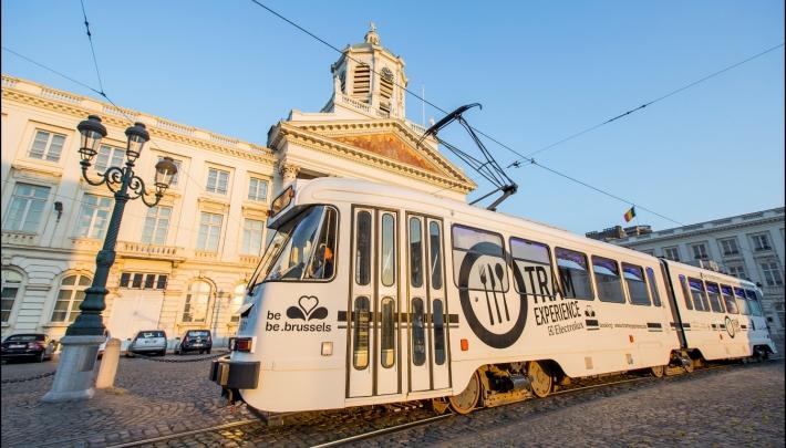 Tram Experience Brussel klaar voor vertrek