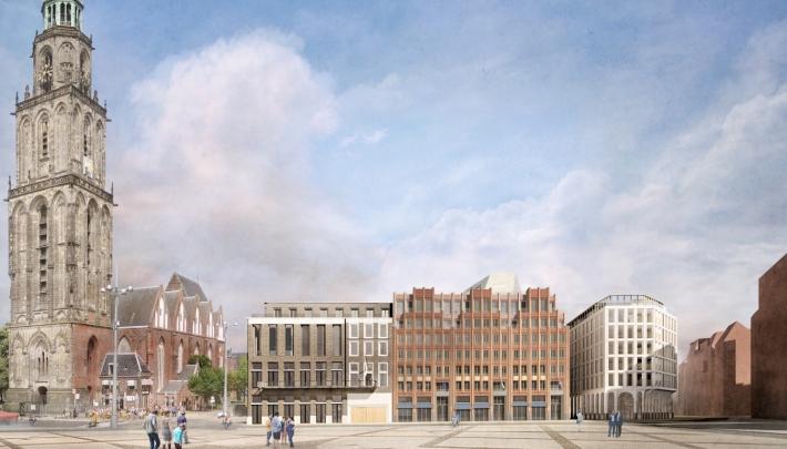 The Market Hotel aan Grote Markt in Groningen open op 1 mei