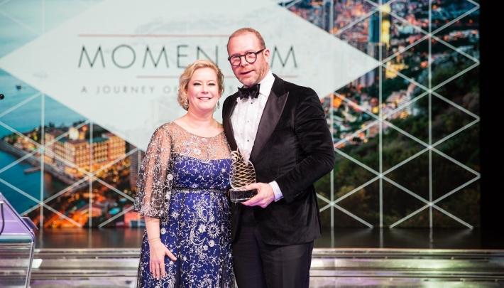 Stephan Stokkermans ontvangt Hotelier of the Year 2019 Award
