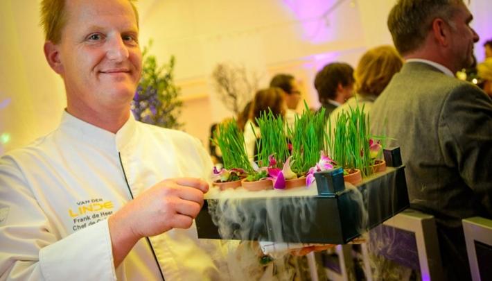 Sfeerproeven op de nieuwe website van Van der Linde Catering