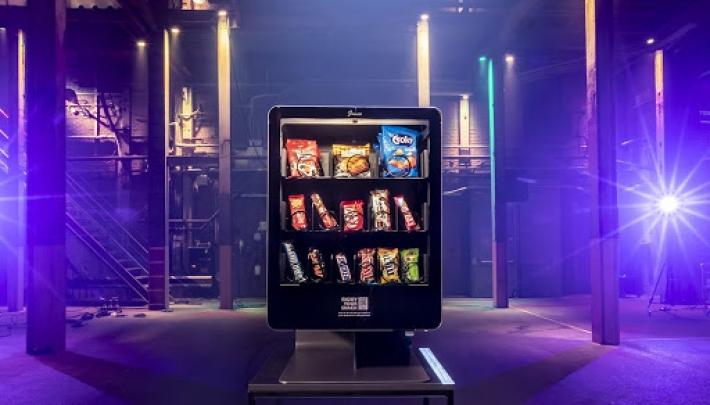 Junea, de eerste smart vendingmachine ter wereld