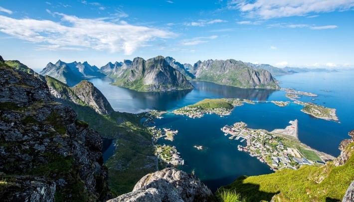 Noorwegen - Check-in PR