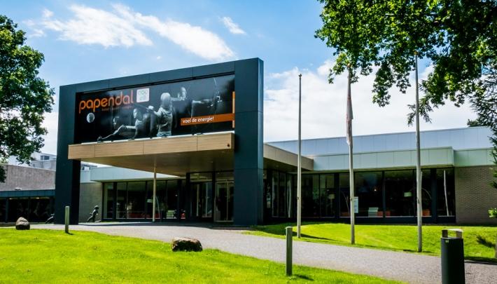 Voorzijde Hotel Papendal