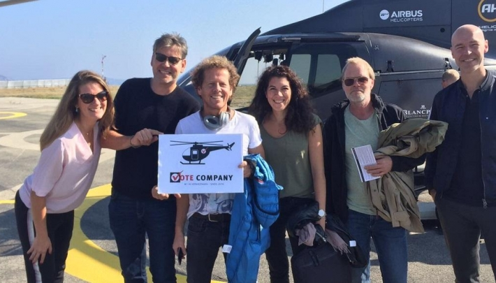 Vote Company geeft helikopterview Cote d'Azur vervolg