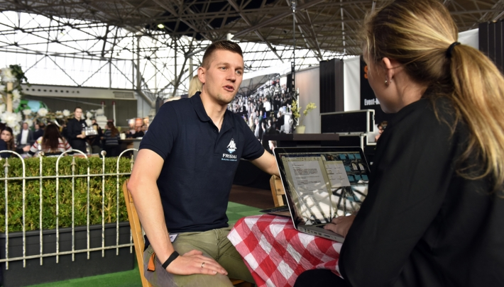 Wilco Fennema van Frisian Sailing Company #EventSummit