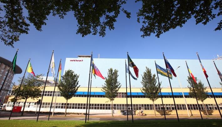 Toekomstige leiders in World Forum The Hague