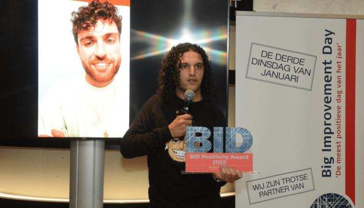 Speciale BID Positivity Awards voor positieve mensen en bedrijven