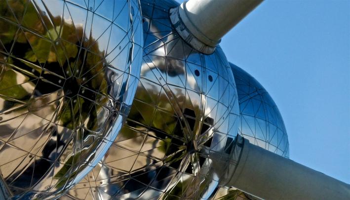 Uniek in de wereld: het Atomium