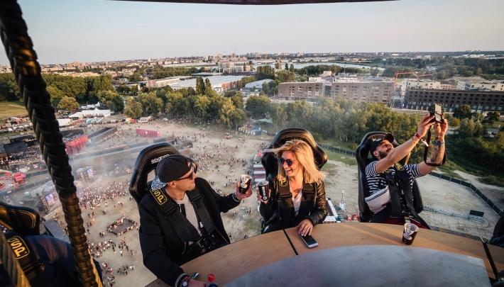 Bar in the Sky: proosten op 50 meter hoogte