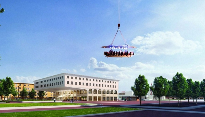 Dinner in the Sky maakt vlucht met Het Amsterdamse Proeflokaal