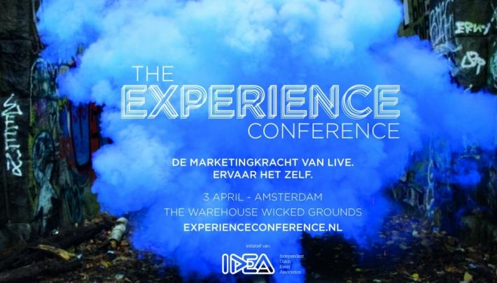 The Experience Conference; ervaar de kracht van live