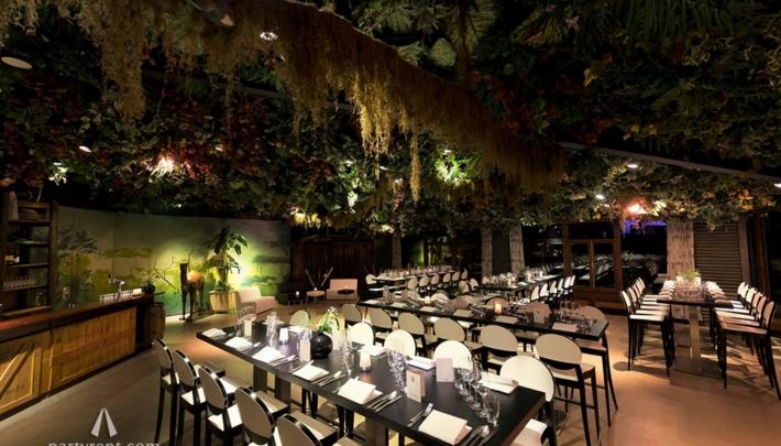 Party Rent Group bij make-over Naarderbos en de finishing touch van Jungle restaurant