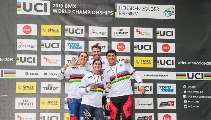 Krekels voorziet WK BMX van promotiemateriaal