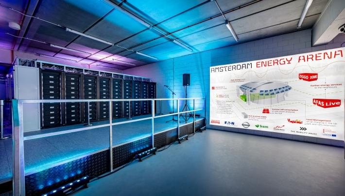 Megabatterij ArenA wint internationale milieuprijs