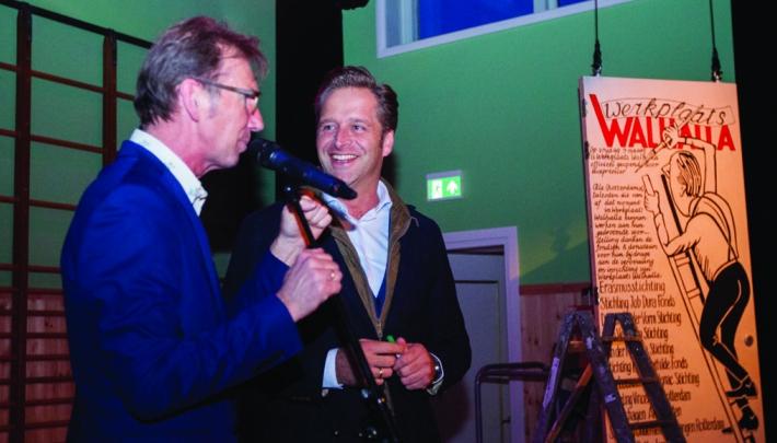 Vicepremier Hugo de Jonge opent Werkplaats Walhalla