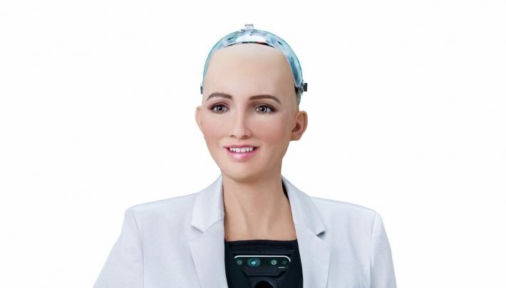 Spreker Sophia eerste robot op Forward Thinking Leadership