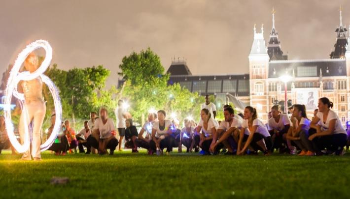 Stadswild Silent Night Run in 5 steden