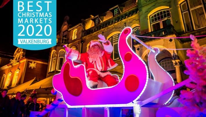 Kerststad Valkenburg in top 10 'European Best Christmas Markets'