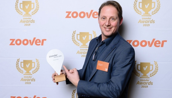 Blooming Hotel wint Zoover Award