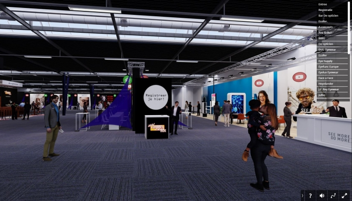 Bridge Event & Exhibition Facilities bouwt online beurs in Virtual Reality